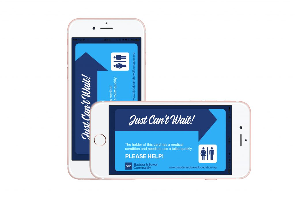 Just Can't Wait Toilet Card App